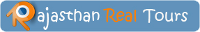 Rajasthan Real Tours Logo Sticky